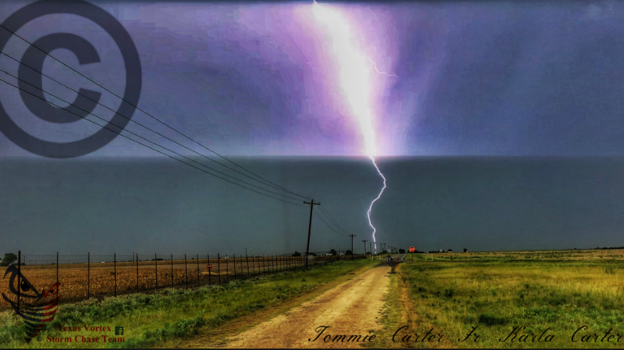 country road lightning 2